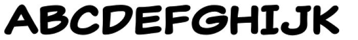 Classic Comic Bold Font LOWERCASE