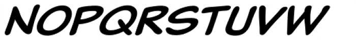 Classic Comic Italic Font UPPERCASE