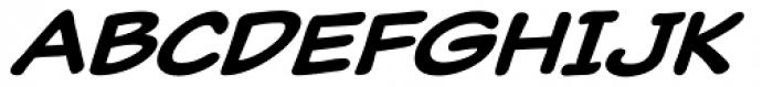 Classic Comic Medium Italic Font UPPERCASE
