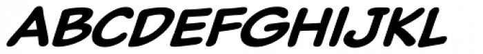 Classic Comic Medium Italic Font LOWERCASE
