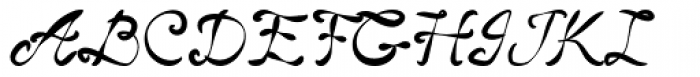 Classic Cool Font UPPERCASE