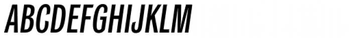 Classic Grotesque Pro Cm Medium Italic Font UPPERCASE