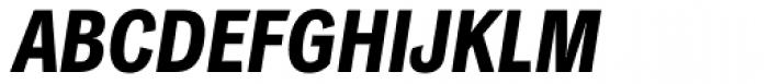 Classic Grotesque Pro Cn Bold Italic Font UPPERCASE