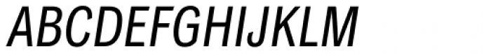 Classic Grotesque Pro Cn Italic Font UPPERCASE