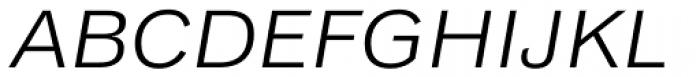 Classic Grotesque Pro Ext Book Italic Font UPPERCASE