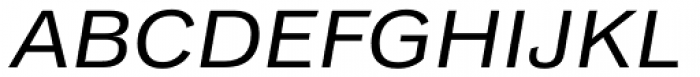 Classic Grotesque Pro Ext Italic Font UPPERCASE
