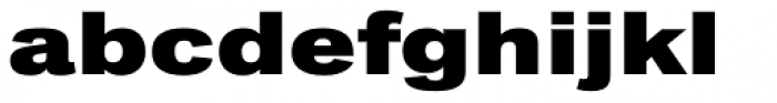 Classic Grotesque Pro Ext XBold Font LOWERCASE