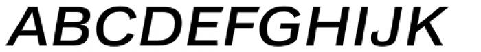 Classic Grotesque Std Extended Medium Italic Font UPPERCASE