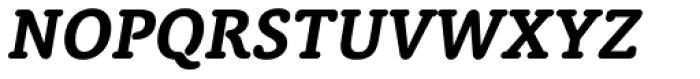 Classic Round Bold Italic Font UPPERCASE