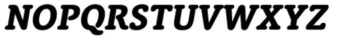 Classic Round Heavy Italic Font UPPERCASE