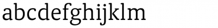Classic Round Light Font LOWERCASE