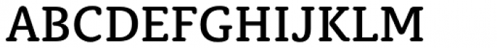 Classic Round Medium Font UPPERCASE