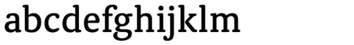 Classic Round Medium Font LOWERCASE