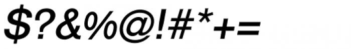 Classic Sans Medium Italic Font OTHER CHARS