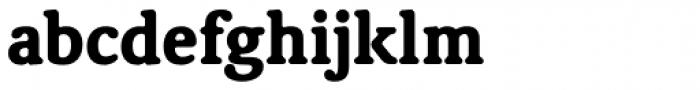 Classic XtraRound Heavy Font LOWERCASE