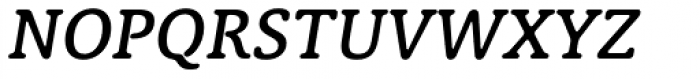 Classic XtraRound Medium Italic Font UPPERCASE