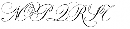 Classic Font UPPERCASE