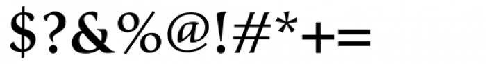 Classica Medium Font OTHER CHARS