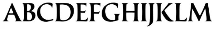 Classica Medium Font UPPERCASE