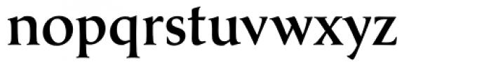 Classica Medium Font LOWERCASE