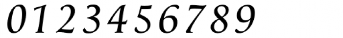Classica Normal Italic Font OTHER CHARS
