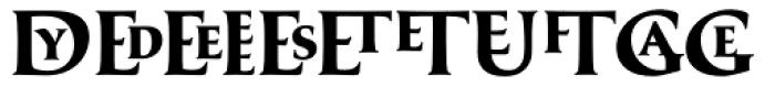 Classica Prestige C Bold Font UPPERCASE