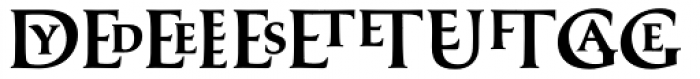 Classica Prestige C Medium Font UPPERCASE