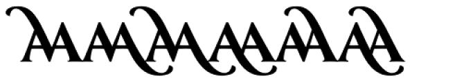 Classica Prestige D Bold Font UPPERCASE