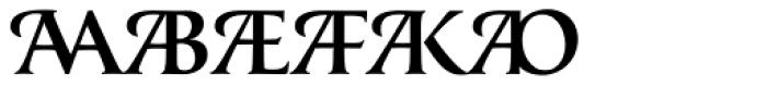 Classica Prestige D Medium Font OTHER CHARS