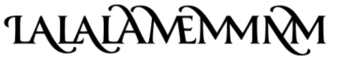 Classica Prestige D Medium Font LOWERCASE