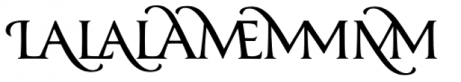 Classica Prestige D Normal Font LOWERCASE