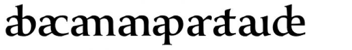 Classica Prestige E Medium Font OTHER CHARS