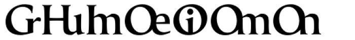 Classica Prestige E Medium Font UPPERCASE