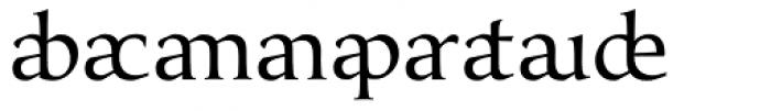 Classica Prestige E Normal Font OTHER CHARS