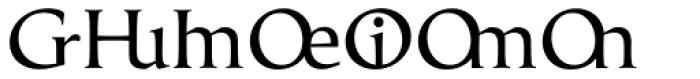 Classica Prestige E Normal Font UPPERCASE