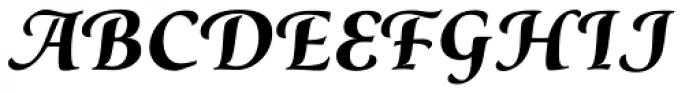 Classica Prestige F Bold Font LOWERCASE