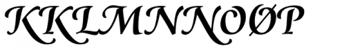 Classica Prestige F Medium Font UPPERCASE