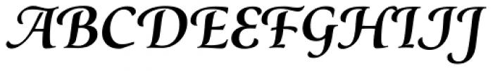 Classica Prestige F Medium Font LOWERCASE