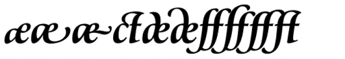 Classica Prestige G Bold Font OTHER CHARS