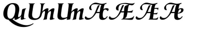 Classica Prestige G Bold Font UPPERCASE