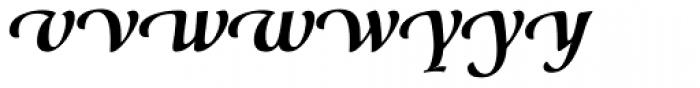 Classica Prestige G Bold Font LOWERCASE