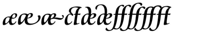 Classica Prestige G Medium Font OTHER CHARS