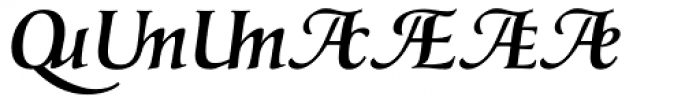 Classica Prestige G Medium Font UPPERCASE