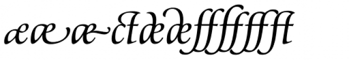 Classica Prestige G Normal Font OTHER CHARS
