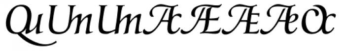 Classica Prestige G Normal Font UPPERCASE