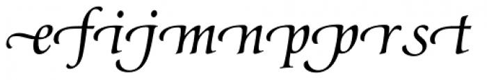Classica Prestige G Normal Font LOWERCASE