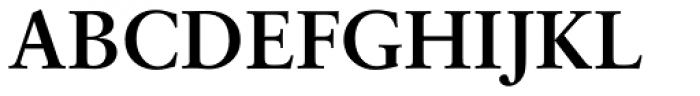 Classical Garamond Bold Font UPPERCASE