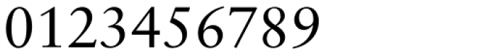 Classical Garamond Font OTHER CHARS