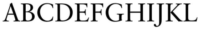 Classical Garamond Font UPPERCASE