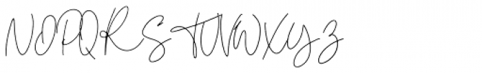 Claster Regular Font UPPERCASE